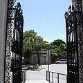 The Gate At Vizcaya Gardens by Dora Sofia Caputo Photographic Design and Fine Art