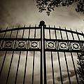 The Gate In Sepia by Steven Milner