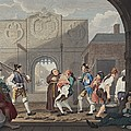 The Gate Of Calais, Or O The Roast Beef by William Hogarth