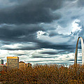 The Gateway Arch Downtown St. Louis by Cindy Tiefenbrunn