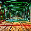 The Gdanski Bridge by Tomasz Dziubinski