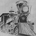 The General - Train - Big Shanty Kennesaw Ga by Jan Dappen
