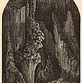The Geyser 1872 Engraving by Antique Engravings