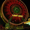 The Giant Wheel Spinning  by Jeff Swan