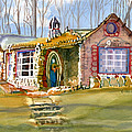 The Gingerbread House by Kris Parins