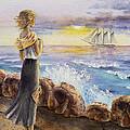 The Girl And The Ocean by Irina Sztukowski