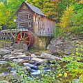 The Glade Grist Mill by Rich Walter