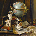 The Globertrotters by Henriette Ronner-Knip