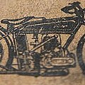 The Gold Medal Motorcycle 1925 by Robert Phelan