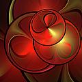 The Golden Light Is Shining by Gabiw Art