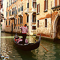 The Gondolier by Ellen Henneke