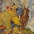 The Good Samaritan - After Delacroix by Vincent van Gogh