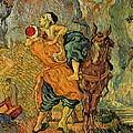 The Good Samaritan After Delacroix 1890 by Vincent Van Gogh