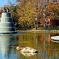 The Goodale Park  Fountain by Laurel Talabere