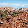 The Goosenecks Capitol Reef National Park by Fred Stearns