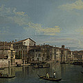 The Grand Canal In Venice by Canaletto