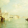 The Grand Canal by Thomas Moran