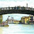 The Grand Canal Venice Italy by Albert Puskaric