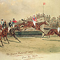 The Grand National Over The Water by William Verner Longe