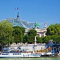 The Grand Palais And The Alexandre Bridge Paris by Michal Bednarek