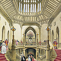 The Grand Staircase, Windsor Castle by English School