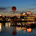The Great And Powerful Oz Over Downtown Disney by David Lee Thompson