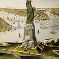 The Great Bartholdi Statue by Mountain Dreams