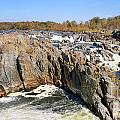 The Great Falls Of The Potomac Panorama by Jack Schultz