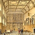 The Great Hall, Hatfield, Berkshire by Joseph Nash