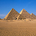 The Great Pyramids Giza Egypt by Panoramic Images