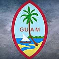 The Great Seal Of Guam Territory Of Usa  by Movie Poster Prints