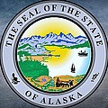 The Great Seal Of The State Of Alaska  by Movie Poster Prints