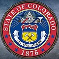The Great Seal Of The State Of Colorado by Movie Poster Prints