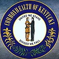 The Great Seal Of The State Of Kentucky  by Movie Poster Prints