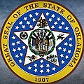 The Great Seal Of The State Of Oklahoma by Movie Poster Prints