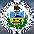 The Great Seal Of The State Of Pennsylvania  by Movie Poster Prints