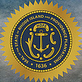 The Great Seal Of The State Of Rhode Island by Movie Poster Prints