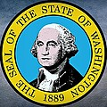 The Great Seal Of The State Of Washington by Movie Poster Prints