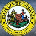 The Great Seal Of The State Of West Virginia by Movie Poster Prints