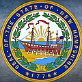 The Great Seal Of The State Of New Hampshire by Movie Poster Prints