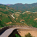 The Great Wall At Badaling In Beijing by Panoramic Images