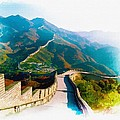 The Great Wall Of China by Don Kuing