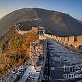 The Great Wall Of China Mutianyu China by Mark Carnaby