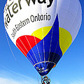 The Great Waterway Balloon by Paul Wash