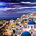 The Greek Isles Santorini by Tom Prendergast