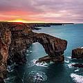 The Green Bridge Of Wales by Joe Daniel Price