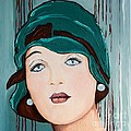 Green Cloche by Barbara Chase