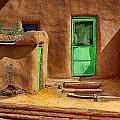 The Green Door by Wayne Wood