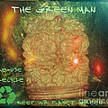 The Green Man - Recycle by Absinthe Art By Michelle LeAnn Scott