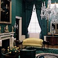 The Green Room In The White House by Haanel Cassidy